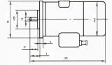 DC Motor, 24-60VDC, 75W, 7500rpm, 0.1Nm, СД-75М - 3