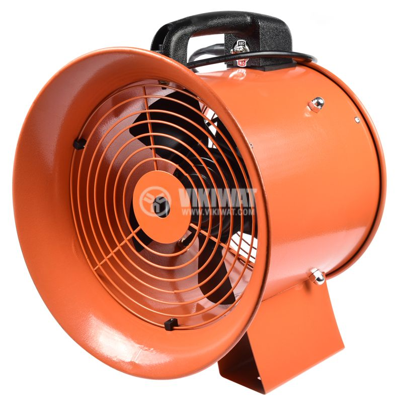 Fan, industrial, axial, Ф250mm, 220VAC, 130W, 1850m3 / h, VP-2E-250 - 6