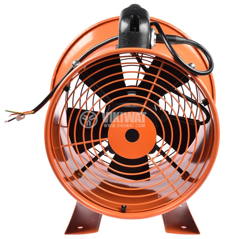 Fan, industrial, axial, Ф250mm, 220VAC, 130W, 1850m3 / h, VP-2E-250 - 7