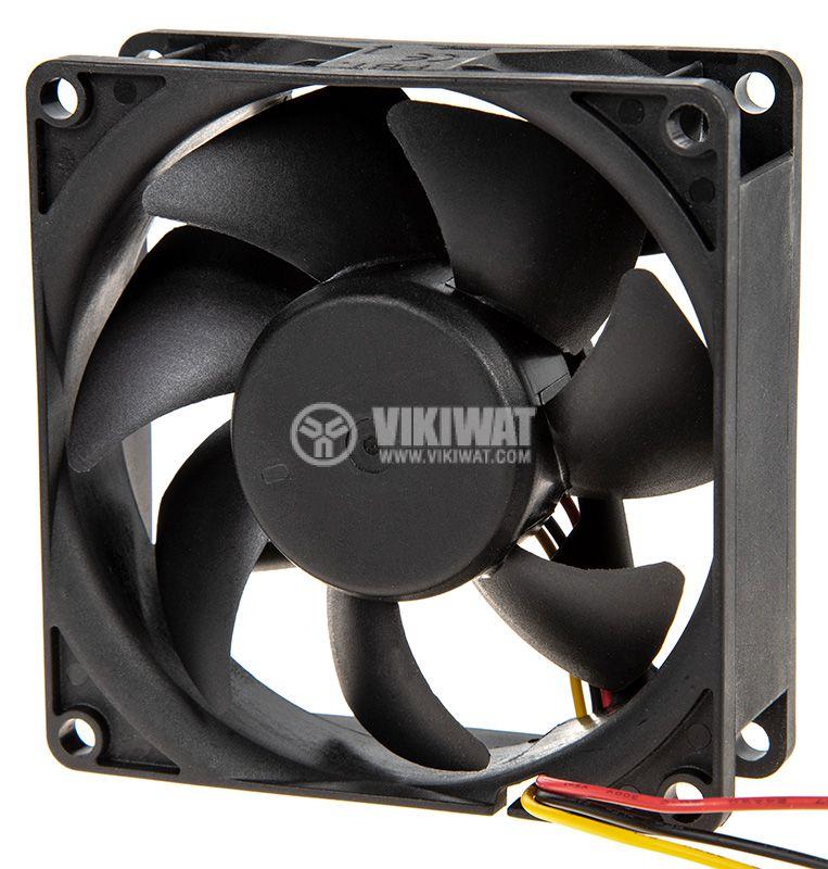 Вентилатор 80x80x25mm - 3