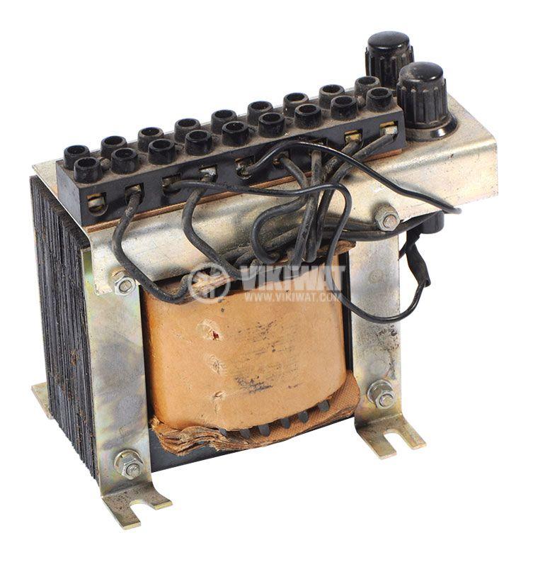 Ш-образен трансформатор, 380VAC на 42/12VAC, 350W - 1