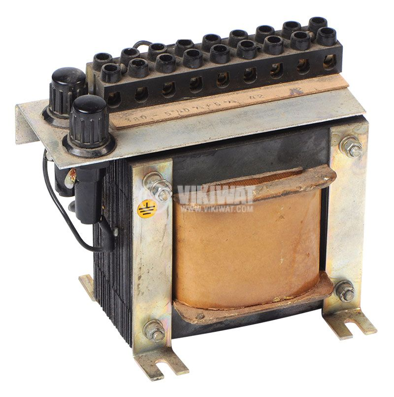 Ш-образен трансформатор, 380VAC на 42/12VAC, 350W - 2