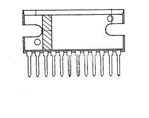 Интегрална схема uPC1277 двоен аудио усилвател  - 2