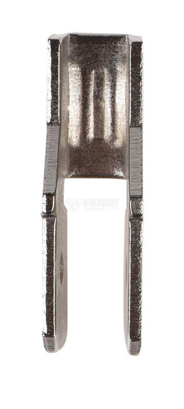 Кабелен накрайник, двоен 6.3mm - 3