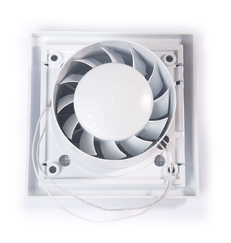 Fan MM100, ф100 mm 220 VAC, 11 W, 95 m3/h (55.9 Cfm), 33.13 dBA - 3