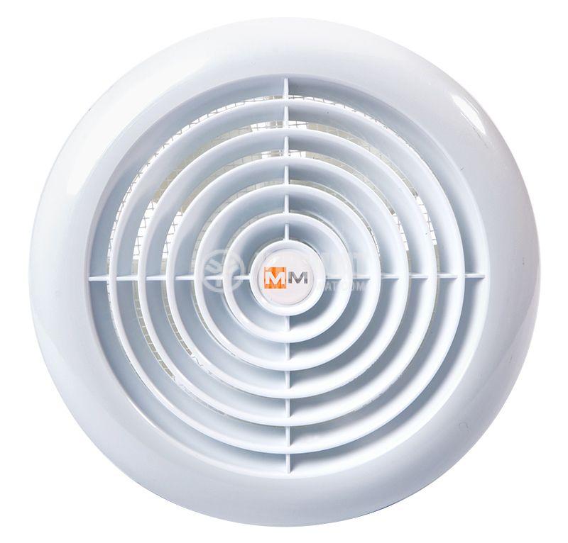 Fan MM120, ф120mm, 230 VAC, 18 W, 150 m3/h (88.29 Cfm)  - 1