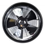 Industrial Axial Fan, BDRAX 250-2K, ф250mm, 230VAC, 110W, 1500m3/h (882.9 Cfm)