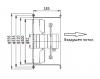 Axial Duct Fan, VL-2E-300, Ф300mm, 220VAC, 195W, 3250m3 / h - 3