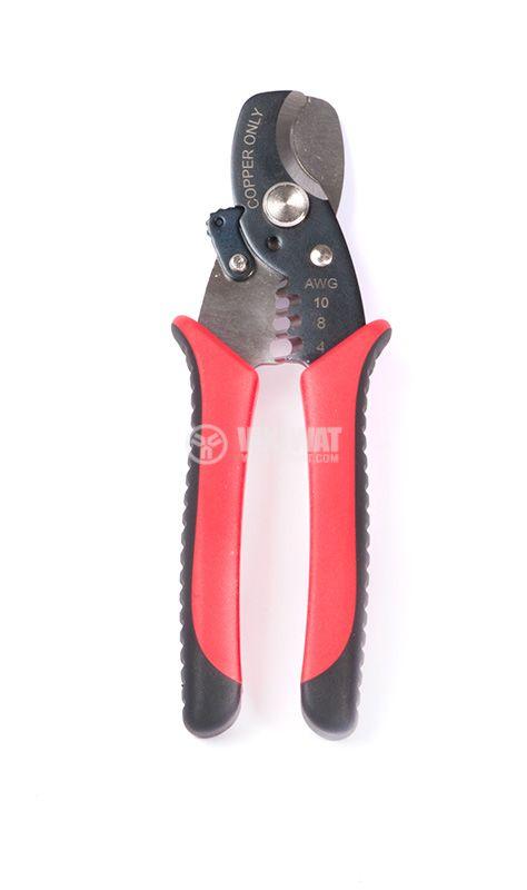 Клещи за рязане и снемане на изолация, 0.75-6mm2, Newbrand - 1