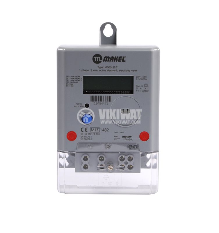 Electronic Electricity Meters M600.2251 - 1