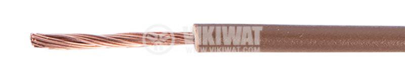 Проводник кабел ПВ-А2 1x1.5mm2 кафяв