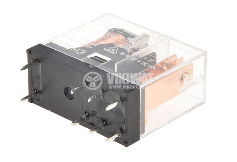 Electromagnetic  relay G2R-1-E, coil 12VDC, 16A / 250VAC, SPDT 1NO + 1NC - 2