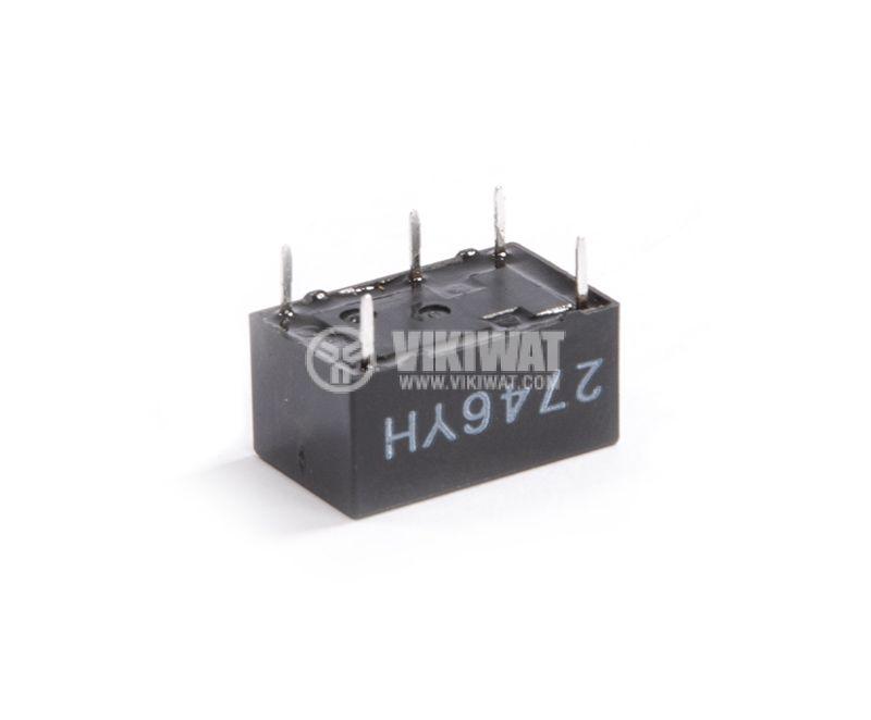 Електромагнитно реле, 0.4A, 125VAC, 2A, 30VDC, NO+NC, бобина 24VDC - 2
