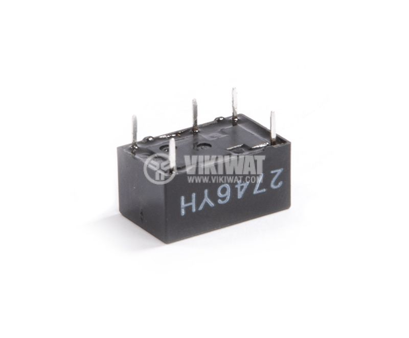 Electromagnetic relay, 0.4A, 125VAC, 2A, 30VDC, NO+NC, coil 24VDC - 2