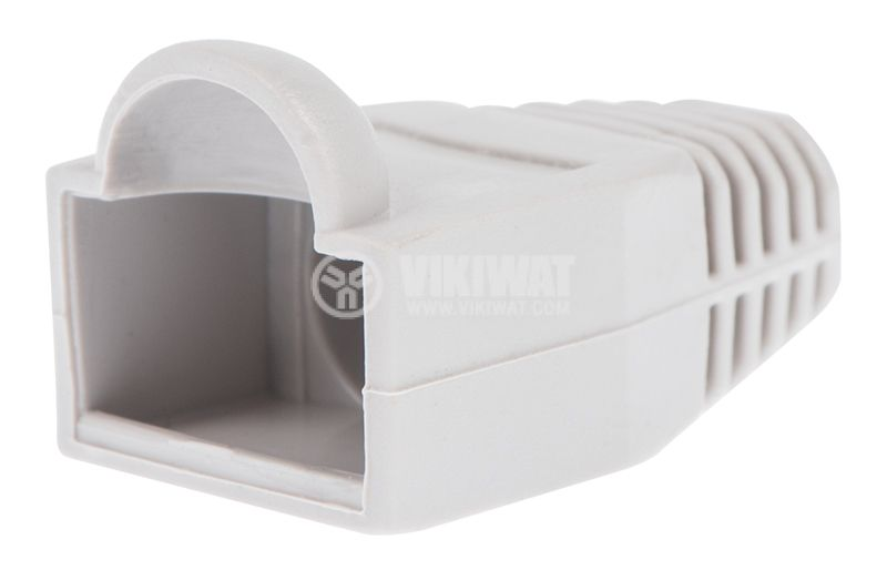 Boots Cap Plug RJ45 white, grey - 1
