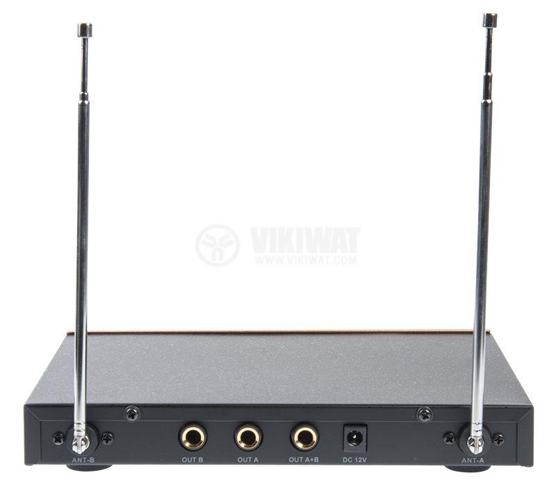 Професионални безжични микрофони и приемник KM388 - 3