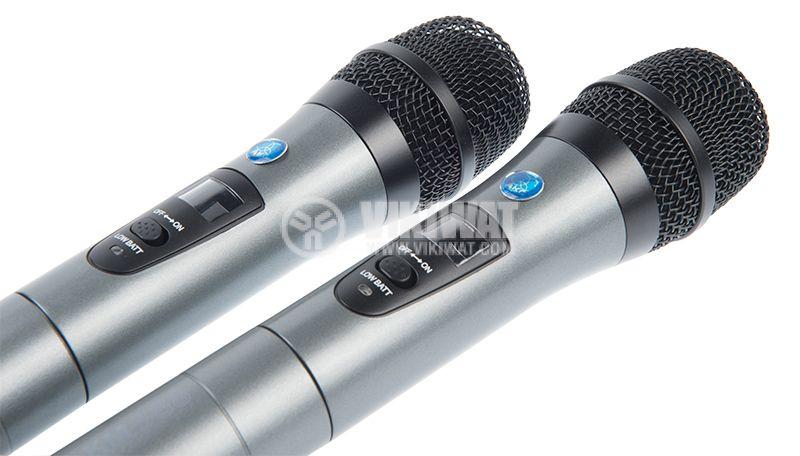 Професионални безжични микрофони и приемник KM388 - 4