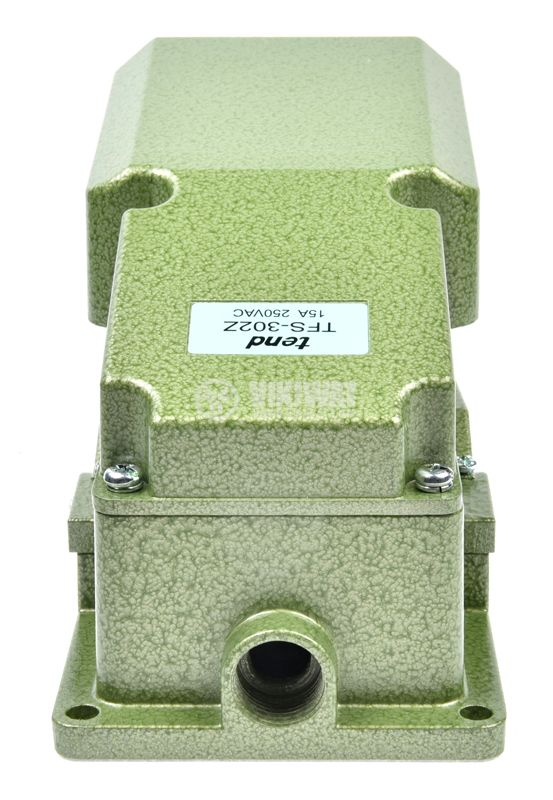 Foot switch, TFS-302, SPDT, 15 A / 250 VAC - 4