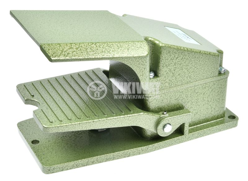 Foot switch, TFS-302, SPDT, 15 A / 250 VAC - 5