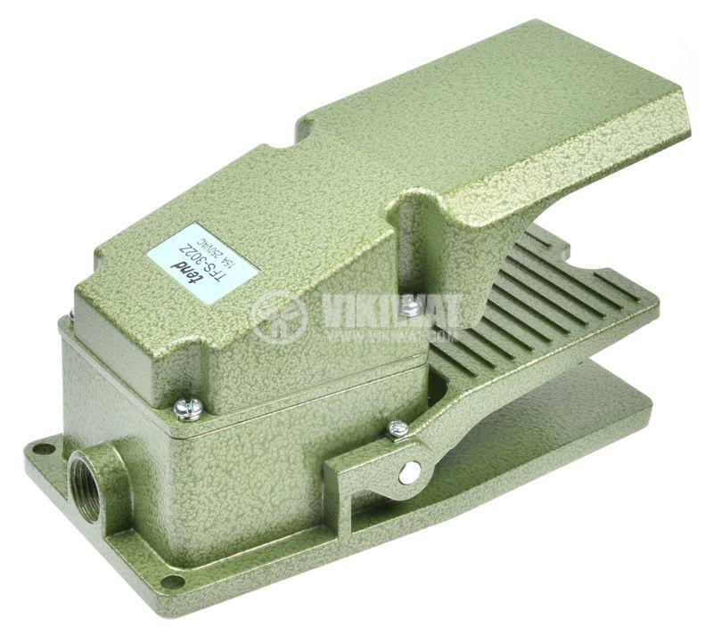 Foot switch, TFS-302, SPDT, 15 A / 250 VAC - 1