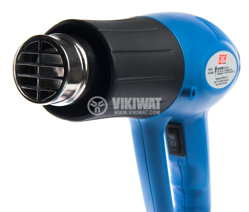 Hot Air Gun, 2000W, 230VAC, 550℃ - 3