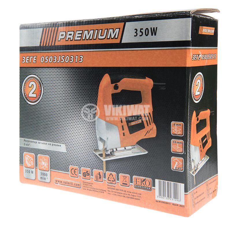 Jig Saw Premium, 350W, 3000RPM, 230VAC - 5
