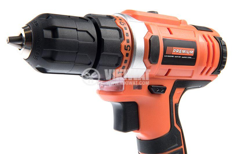Rechargeable drill 0503-LCD-PROFI, 18V, 1.5Ah, Li-ion - 2