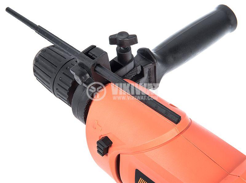 Impact drill 0503KPID0534-2, 650W, 0-3000RPM, 230VAC - 3