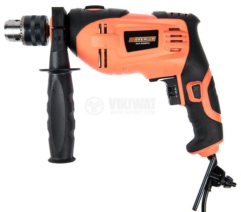 Impact drill 0503ID0716, 750W, 0-2800RPM, 230VAC - 1
