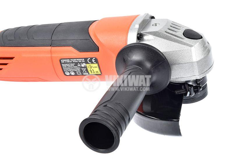 Angle grinder 0503AGB-001-900-B, 900W, 0-11000RPM, 230VAC - 2