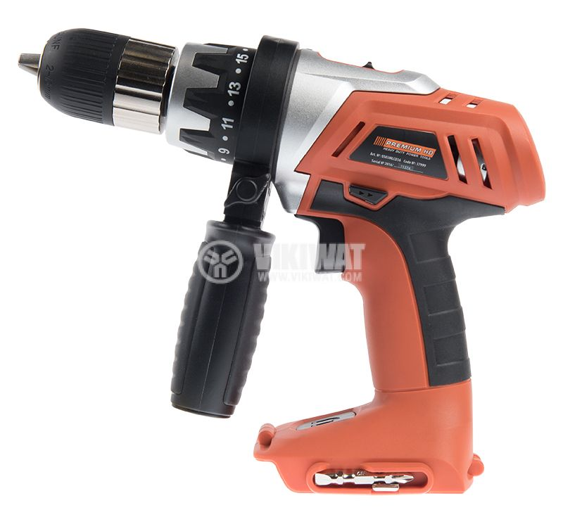 Rechargeable drill 0503MLCD36, 18V, 0-1200RPM - 2
