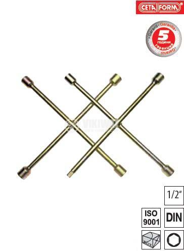 Cross wrench 17x19x21x22mm