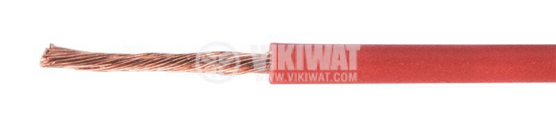 Проводник ПВ-А2, 1x1mm2, червен