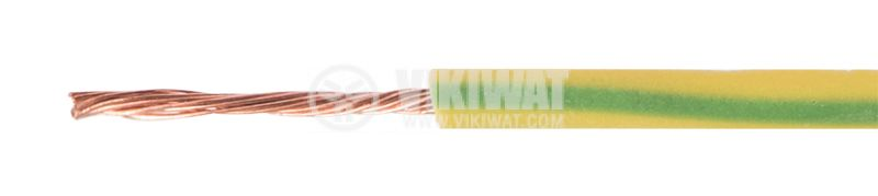 Cable, H05V-K, 1x0.75mm2