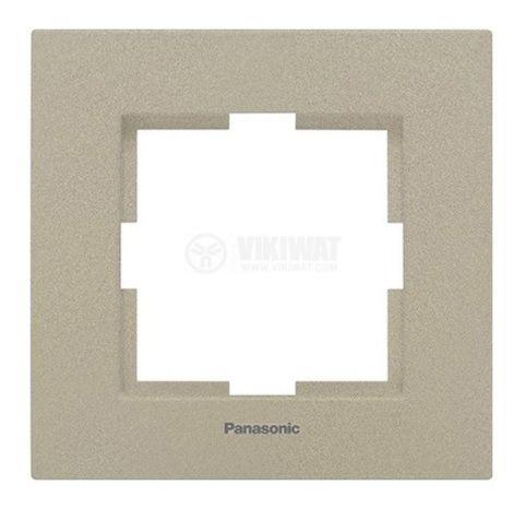 Златиста единична рамка Каре Плюс Панасоник, WKTF08012BR - 1