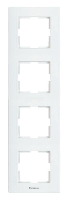 4-gang frame WKTF0814-2WH