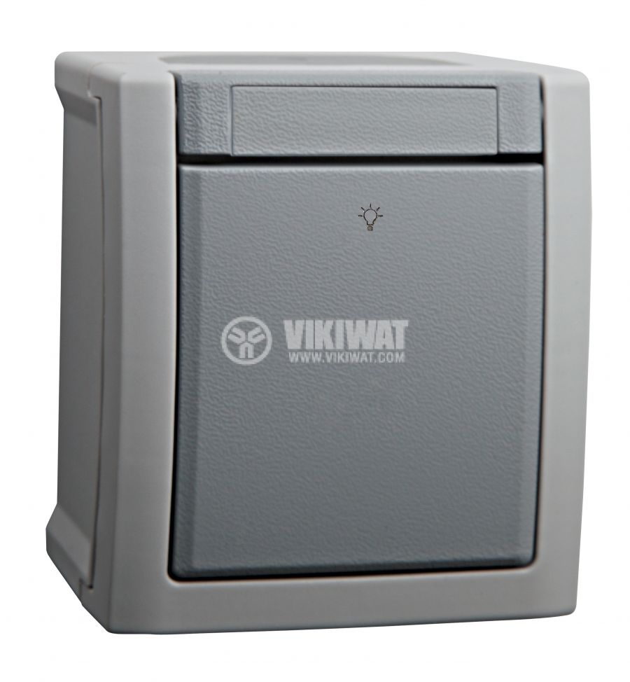 One-way push-button 250VAC 10A - 2
