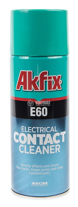 Contact cleaner Akfix E60, 400ml