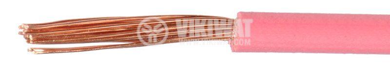 Проводник ПВ-А2, 1x1mm2, розов