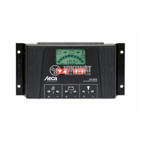 Controller for solar system Solarix 4040, 40A, 12V / 24V - 1