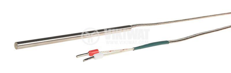 Термосонда WRN-035, K, -50°C - 420°C, ф5mm, дължина 100mm - 2