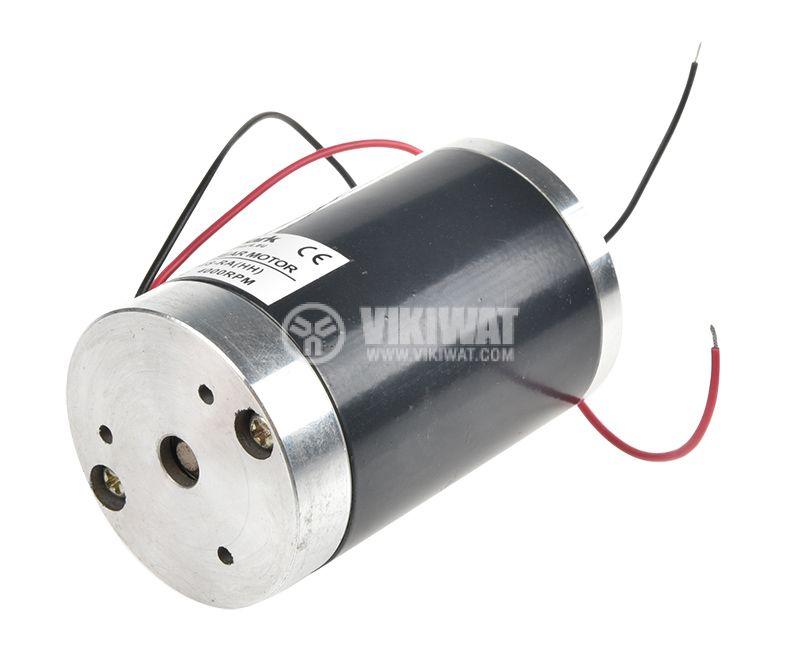 Електродвигател постояннотоков, 12VDC, 4000rpm, 0.6A, VYT50S-RA(HH) - 2