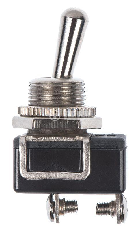 ЦК ключ KN3Е-101, 3A/250VAC, 6A/125VAC, SPST, ON-OFF - 4