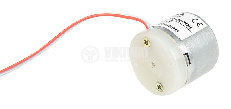 Електродвигател постояннотоков, 12VDC, 3700rpm, 0.07А, V32ZY - 2