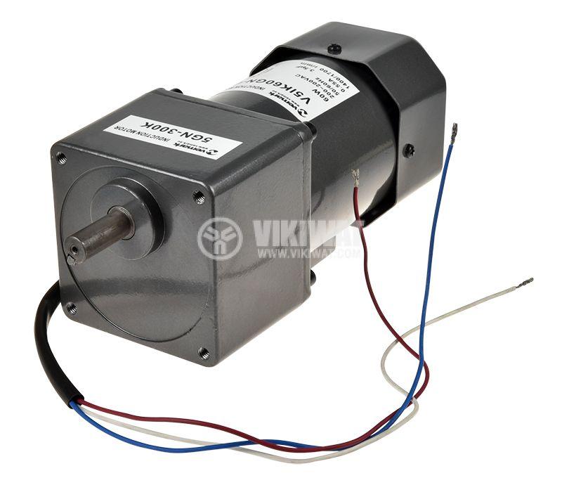 Induction Motor 220VAC, 60W, 4.5rpm, V51K60GN-C+5GN 300K - 3