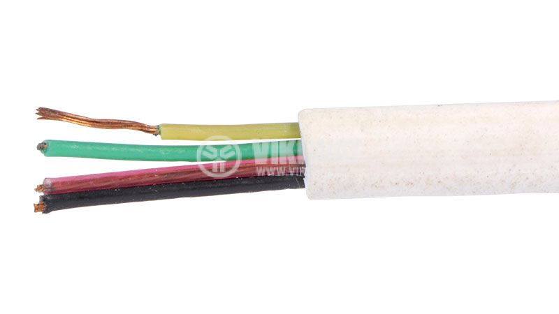 Telephone cable 4x0.12mm2
