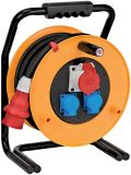 Cable reel CEE 1, 30m, 3-way, 5x2.5mm2, thermal protection, yellow, Brobusta®, Brennenstuhl, 1316300