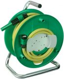 Hose reel Brennenstuhl 20m water hose, ф1/2, spraying nozzle, waterstop, yellow, 1237120