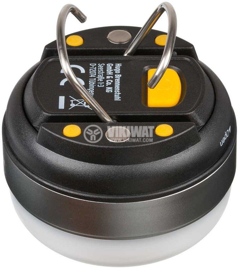 Преносима LED къмпинг лампа OLI 0200, Brennenstuhl, 180lm, 4000K, неутрално бяло, IP44, влагозащитена, 1171550 - 3