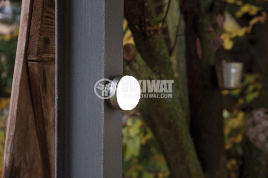 Влагозащитена LED лампа на батерии с кука OLI 0200, Brennenstuhl, 180lm, 4000K, неутрално бяло, IP44, 1171550 - 8